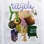 Libelle studiosterk recycling