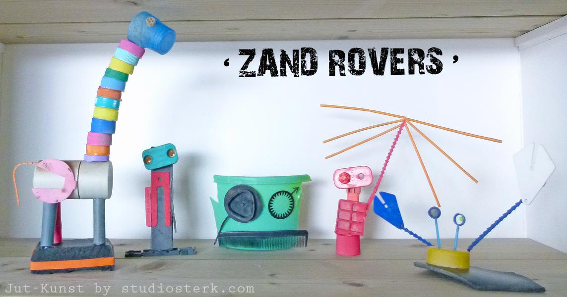 Zand Rovers Jut-Kunst door studiosterk