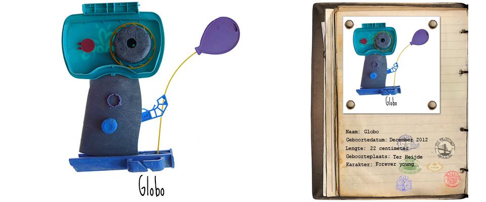 Globo Zand Rover studiosterk jut-kunst strandjutten