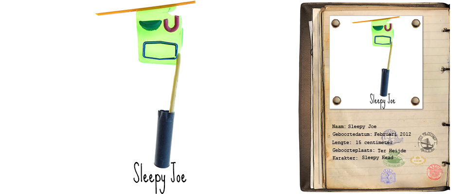 Sleepy Joe Zand Rover studiosterk jut-kunst strandjutten