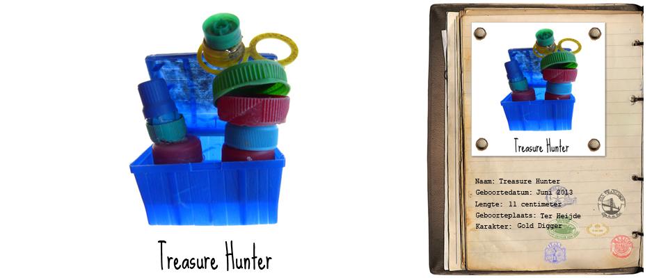 Treasure Hunter Rover studiosterk jut-kunst strandjutten