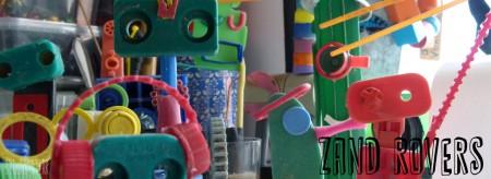 Zand Rovers - jut-kunst door studiosterk