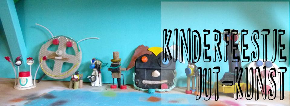 kinderfeestje op het strand jut-kunst kunstwerk en strandjutten studiosterk en dreams